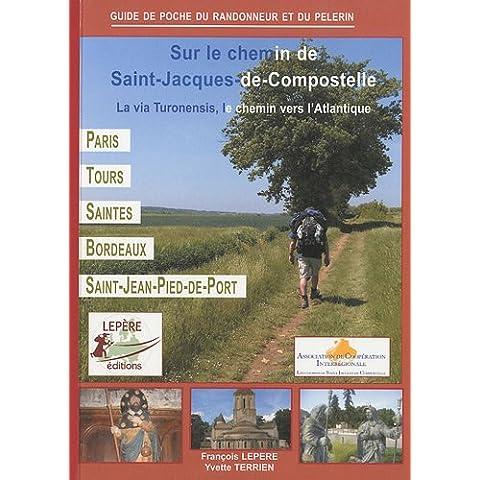 Sur le chemin de Saint-Jacques-de-Compostelle : La via Turonensis, le chemin vers l'Atlantique, Paris - Orléans - Tours - Saintes - Bordeaux - Saint-Jean-Pied-de-Port - Bordeaux Saint Jean