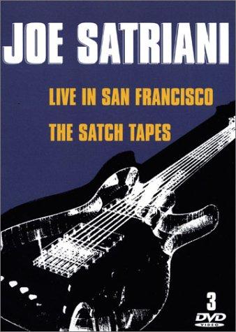 Preisvergleich Produktbild Coffret Joe Satriani 2 DVD : The Satch Tapes - Live in San Francisco