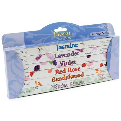 Stamford Floral Gift Pack Incense Sticks (Whole Case) by Stamford -