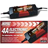 Maypole MP7423 Electronic Charger for Vans Motorcycles and Cars 3.8 A