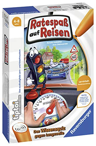 Ravensburger tiptoi 00525 - Spiel: RatespassŸ auf Reisen -