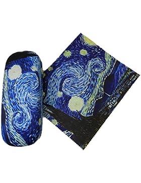 Gafas Funda y Gamuza de limpieza: Vincent van Gogh, Noche estrellada