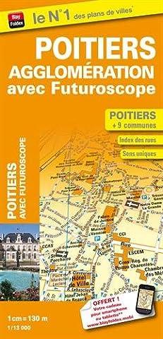 Plan de Ville Poitiers Agglomération - Echelle : 1/13 000