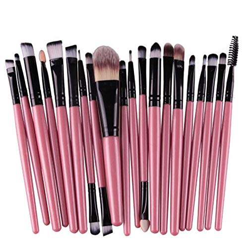 HoSayLike 20PCS Pinsel Set Make Up Foundation Kosmetik Pinselset Premium Schminkpinsel Set...