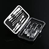 FashladyTM 12Pcs: New Arrival 12Pcs Pedicure/Manicure Set Nail Clippers Cleaner Cuticle Grooming Kit