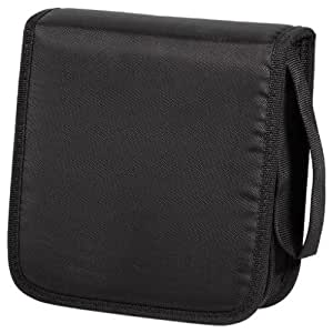 hama cd rom wallet tasche basic 40 schwarz. Black Bedroom Furniture Sets. Home Design Ideas