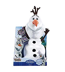Disney Frozen Parler 36cm Tickle Temps Olaf Le Bonhomme de neige douce peluche (English Version)