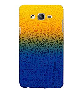 PRINTVISA Abstarct Pattern Case Cover for SAMSUNG GALAXY ON 7 PRO