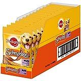 Pedigree Schmackos Hundesnack 4 Sorten, 14 Packungen, (14 x 20 Stück x 172 g)