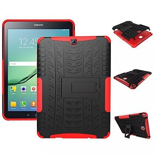 or Schutzhülle Cover Rot für Samsung Galaxy Tab S2 9.7 SM T810 T815N Tasche Case ()