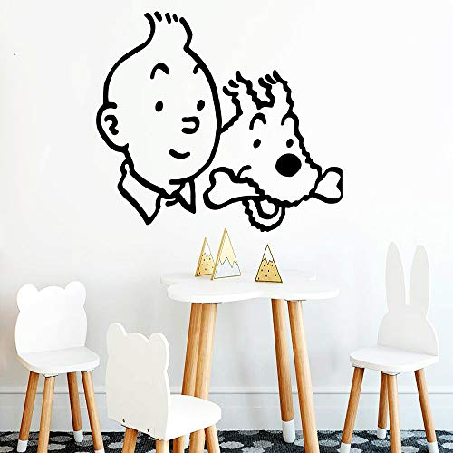 YuanMinglu Freunde Familie wandaufkleber wandbild künstler Wohnzimmer Dekoration küche Restaurant Kunst Aufkleber wandbild 42X46,5 cm