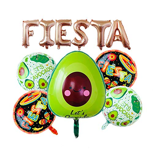Decoration Balloons Mexican Carnival Party Letter Balloon Set Carnival Party Holiday Supplies