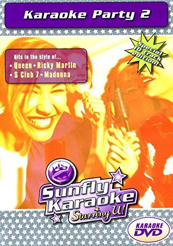 Preisvergleich Produktbild Sunfly Karaoke-DVD Party 2