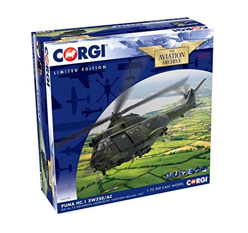 Corgi aa27005Westland Puma HC. 1xw220/AC RAF Nr. 72Squadron aldergrove 1997Modell