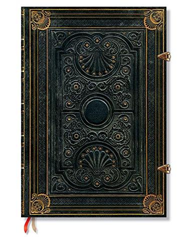 Nocturnelle - Notizbuch Grande Liniert - Paperblanks (Antike Französische Grand)