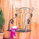 DanDiBo Hängesessel Relax Schaukel mit Ketten Hängebank Gartenschaukel Hollywoodschaukel