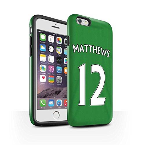 Offiziell Sunderland AFC Hülle / Glanz Harten Stoßfest Case für Apple iPhone 6 / Pack 24pcs Muster / SAFC Trikot Away 15/16 Kollektion Matthews