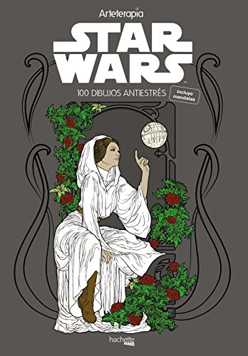Arteterapia Star Wars (Hachette Heroes - Star Wars - Colorear)
