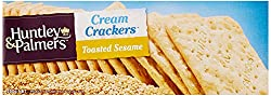 Huntley and Palmers Cream Cracker Toasted Sesame, 250g