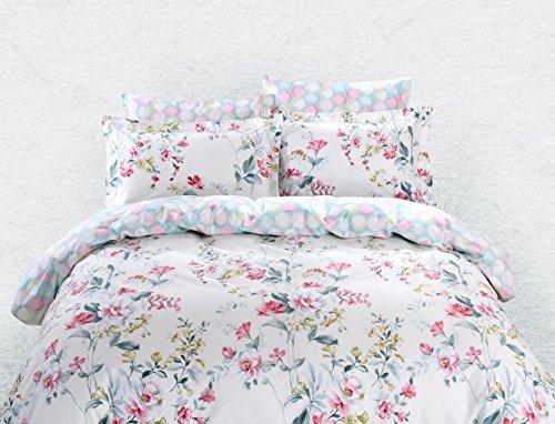 Dolce Bettbezug (dm600q Bettbezug Blatt Set, Dolce Mela Perugia Queen Size Betten Set)