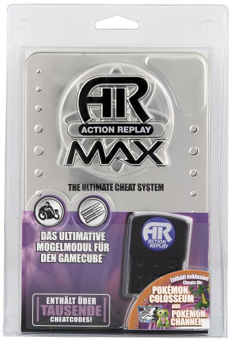 GameCube - Action Replay MAX+ Metal Edition (Cheat Gamecube)