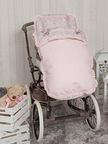 Babyline Caramelo - Saco para silla de paseo, color rosa
