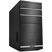 Medion M11 - Ordenador de sobremesa (AMD A10-8750, 8GB de RAM, 1TB de HDD, nVidia GeForce GTX750 - 2 GB DDR5, Windows Home 10) negro