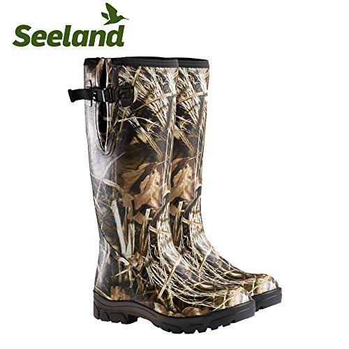 Seeland Gummistiefel Allround 184mm Realtree Max-4, Herren, 32020027009, camouflage