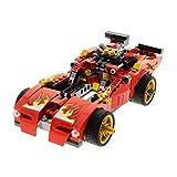 Bausteine gebraucht 1 x Lego System Teile Set für Modell Ninjago Neustart 70727 X-1 Ninja Charger Rennwagen rot Incomplete unvollständig