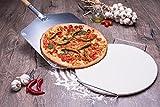 culinario Pizza Zubehör für Ihr Zuhause, Pizzaschaufel und Pizza-Set Pizzaschaufel, Pizzastein und...
