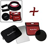 WonderPana FreeArc XL Essential ND320,6Soft Edge Kit für Sigma 12–24mm f/4DG HSM Art Lens (Full Frame 35mm)