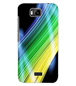 ColourCraft Abstract Image Design Back Case Cover for HUAWEI HONOR BEE