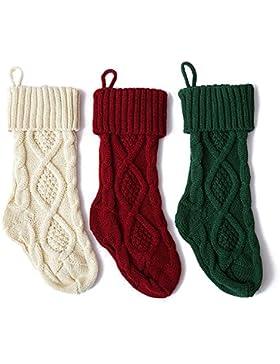 Unisex Weihnachtssocken Christmas Socks Weihnachtsmotiv Weihnachten Festlicher Baumwolle Socken für Damen und...