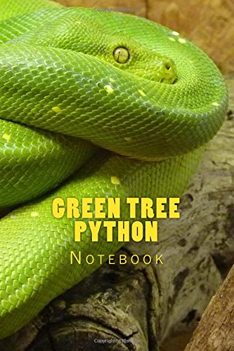 Green Tree Python: Notebook (Python-pet Tree Green)