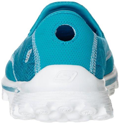 Skechers Gowalk 2 Spark, Sandales de sport Femme Turchese (Turquoise)
