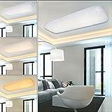 VGO® 30W LED Starlight Effekt Deckenlampe 3in1 Esszimmer Quadrat Wand-Deckenleuchte Schlafzimmer Deckenbeleuchtung Badezimmer geeignet