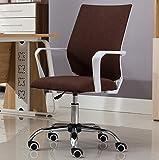 Canyi Z Computer Stuhl Home Meeting Bürostuhl auf und ab Stuhl Drehstuhl Personal Modernen Minimalistischen Stuhl Mahjong Mesh Stuhl (Farbe : 2)