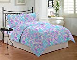 Bombay Dyeing Element 120 TC Polycotton Double Bedsheet With 2 Pillow Covers