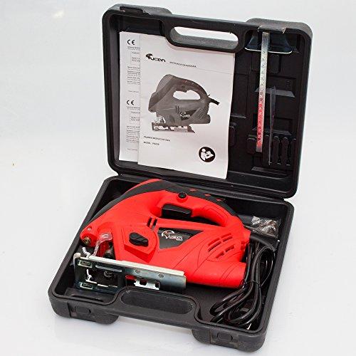 800 Watt Stichsäge Laser Pendulhub Hubzahlregler T-Schaft - 2