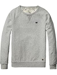 Scotch Shrunk Jungen Sweatshirt Basic Garment Dyed Crew Neck Sweat