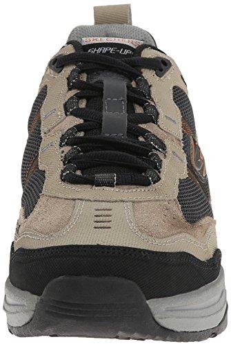 Skechers Xt Premium Comfort, Fitness homme Beige - Beige (Taupe/Black)