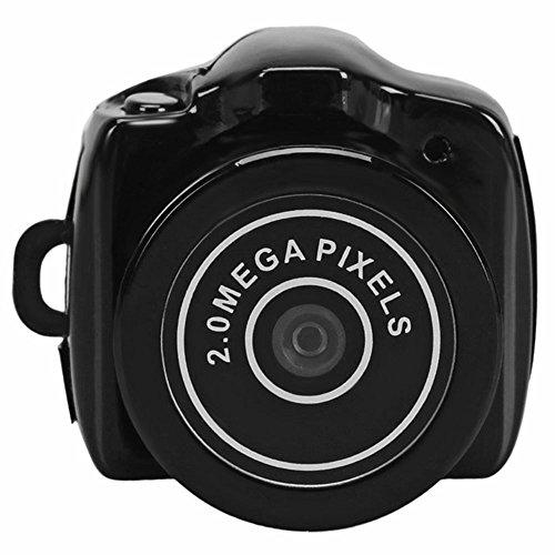 Mini-Kamera DC 5V 2.0Megapixel Tragbarer Mini Camcorder HD Video Kamera mit eingebautem Mikrofon Pocket DV DVR Webcam für Security Digital Recorder Spy Hidden Pinhole Web Cam für persönlichen Home Sicherheit