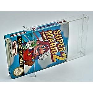 10 x Klarsicht Schutzhüllen für Nintendo OVP NES 0,3mm