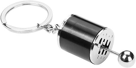 BESTOYARD Black 6 Speed Gearbox Shape Keychain