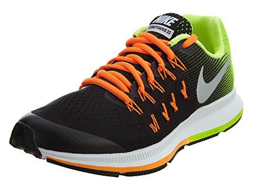 Nike Zoom Pegasus 33 (Gs), Scarpe da Corsa Bambino Black