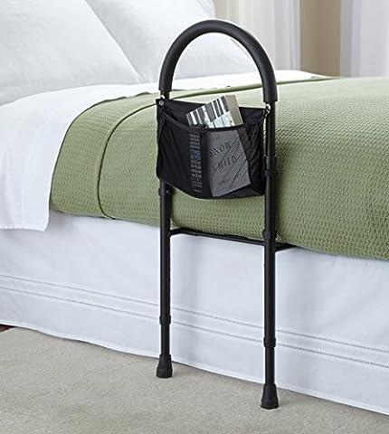 Rail de lit de sécurité aide à la mobilité réglable en hauteur