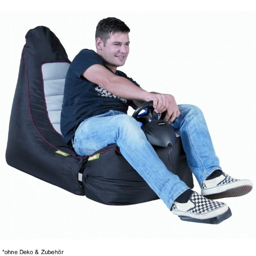 Sitzsack RACE 'ZONE3' Gamer - für Gaming & Chill Out (Modul 1+3)