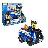 Paw Patrol - Fahrzeuge mit beweglichen Spielfiguren zur Auswahl, Figur:Chase