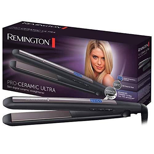 Remington Haarglätter Pro-Ceramic Ultra S5505, hochwertige Ultra-Keramikbeschichtung, schwarz - Remington Pearl Haarglätter