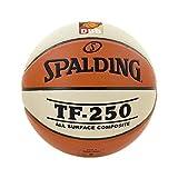 Spalding Ball TF250 DBB In/out 74-594z, Orange, 7, 3001504010417